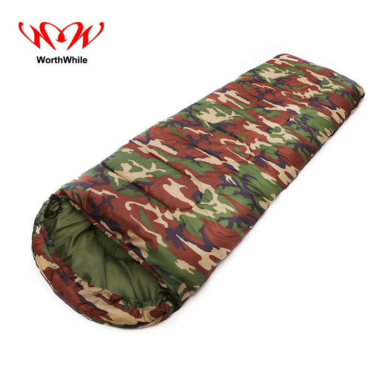 Worthwhile Outdoor Winter Envelope Sleeping Bag Camping Travel Hiking Portable Ultralight naturehike goose down sleeping bag adult waterproof travel outdoor camping hiking warm winter envelope ultralight sleeping ba
