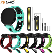 New Wrist Strap for Garmin Forerunner 220 230 235 630 620 735XT Watch With Tools Pins Outdoor Sports Silicone Watch Band Strap for garmin forerunner220 235 620 630 735xt watch band quality silicone watchband with tools garmin smart watches accessories