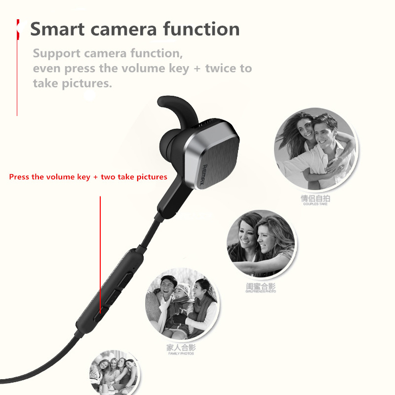 Remax S2 Magnet Sports Bluetooth Headset Wireless White Earphone With Mic Music Clear Volume Original Package For Android Ios Bluetooth Earphones Headphones Aliexpress