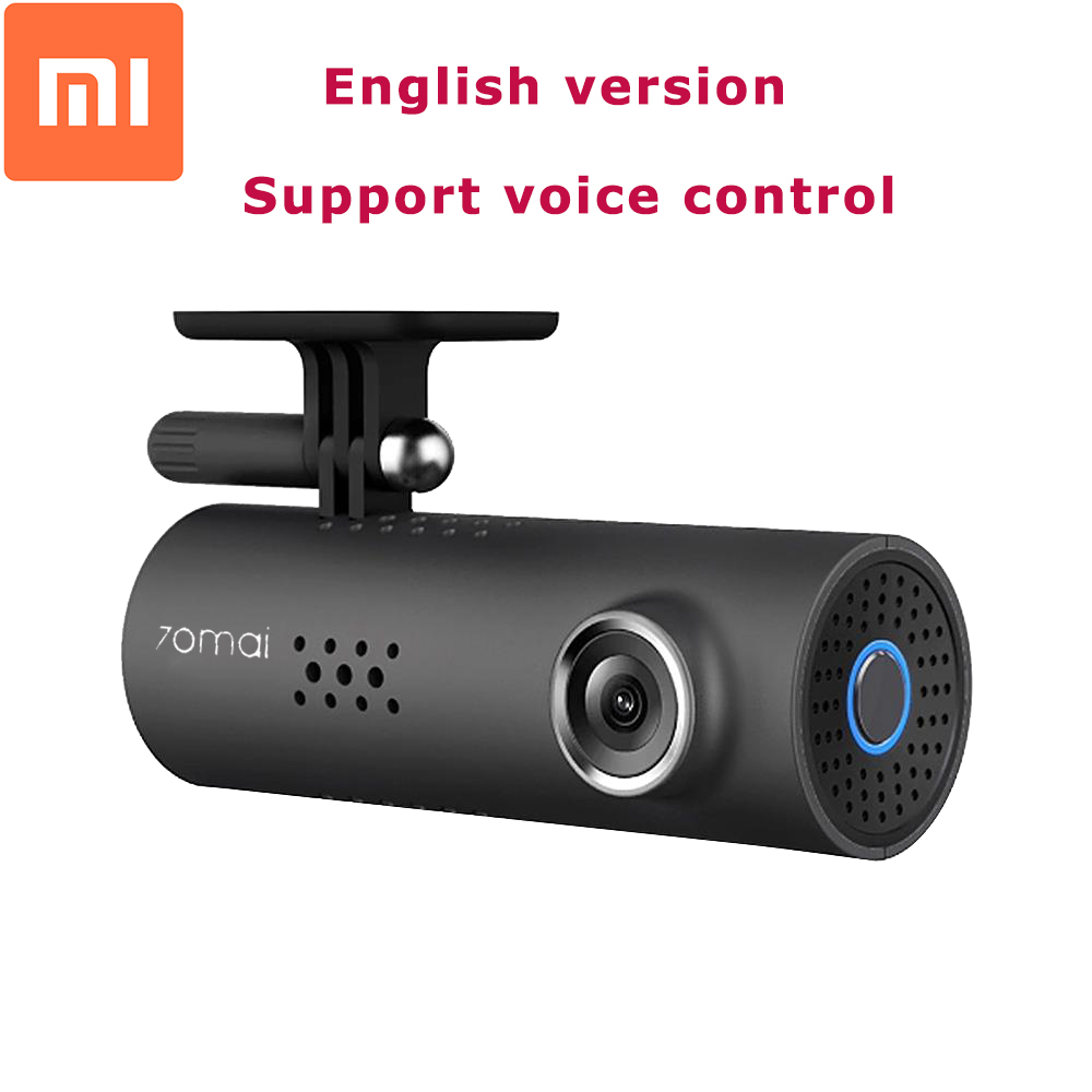Original Xiaomi 70 Minutes 1080P Full HD Smart Car DVR Night Version WiFi 130 Degree Wireless Dash Cam G-Sensor Driving Record