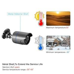 Image 5 - AZISHN H.265 16CH 3MP POE NVRระบบรักษาความปลอดภัยกล้องวงจรปิด16PCS IRกลางแจ้งเสียงบันทึกIPกล้องP2Pการเฝ้าระวังวิดีโอชุด4TB
