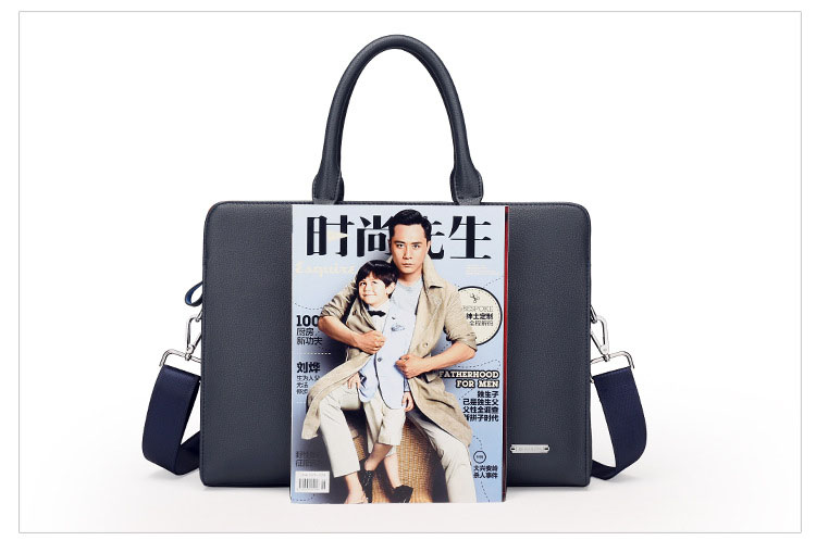 HTB1l79rbf5TBuNjSspcq6znGFXaI Wholesale Genuine Leather Men Briefcases Brand Fashion Men's Crossbody Bags High Quality Male Messenger Bags 2019 New arrival