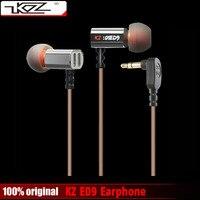 100 Original KZ ED9 3 5mm In Ear Earphones Heavy Bass HIFI DJ Stereo Earplug Noise