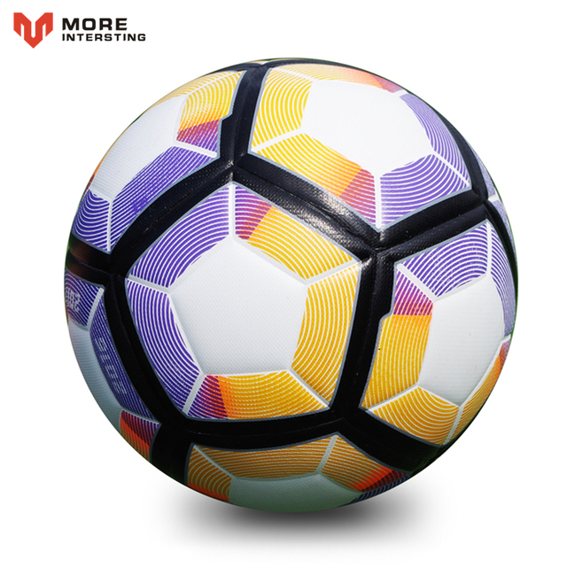 2017 Premier PU Football Soccer Ball Anti-slip Match Team Training Game Balls Teenager Kids Goal Gifts Size 5 Size 4 futbol bola