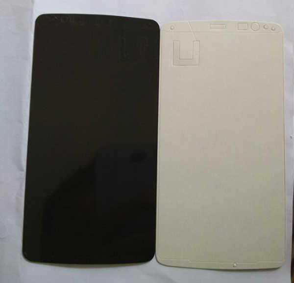 1 pieza de alta calidad LCD frente pegamento adhesivo de la etiqueta engomada para LG G3 D850 D855 reemplazo de doble lado etiqueta de cinta