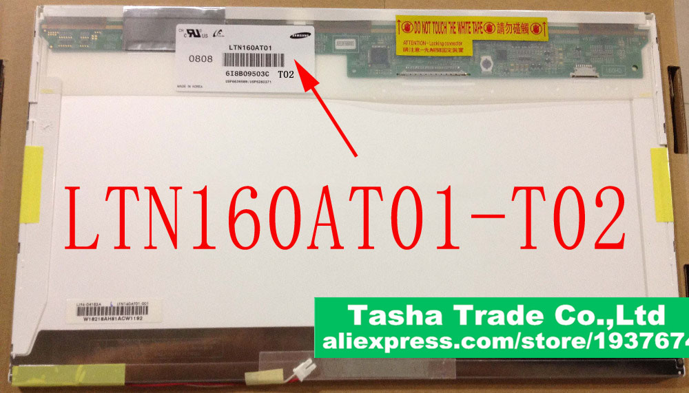 ФОТО  Matrix LTN160AT01-T02 HD CCFL Backlight Laptop LCD Screen LED Display Panel LTN160AT01 T02