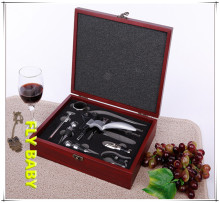 YOFE 9pcs wine bottle opener set multifunction hand tool set for Red wine bottle cork wine
