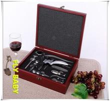 YOFE 9pcs wine bottle opener set multifunction hand tool set for Red wine bottle cork wine opener corkscrew botAbridor de vinho