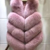 MSAISS 2018 New fashion faux fur coat warm Black white pink S 3XL Large size faux fur vest winter jacket women high quality coat