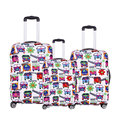 Havaí viagem bagagem mala capa protetora, Extensão de, Feito para 20,24, 28 de polegada, Aplicar a 18 32 polegada casos