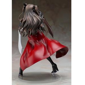 Image 5 - Japão anime figura de ação fate/stay night zero tohsaka rin com a faca pvc 20cm/7.9inche coleção modelo bonito boneca menina sexy