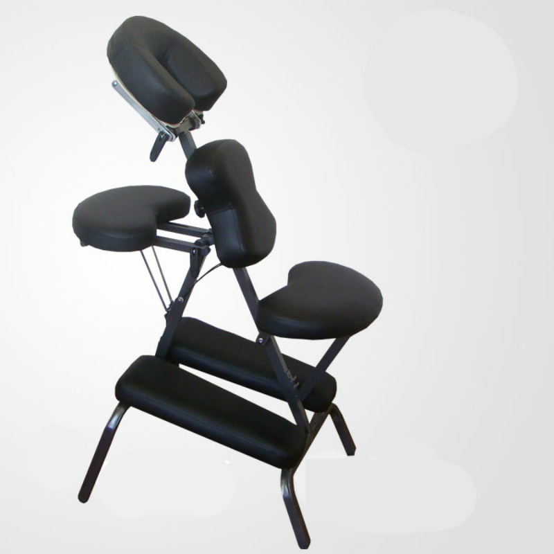 Portable Massage Chair Household Physiotherapy Chair Iron Folding PU Stereotype Sponge Soft and Comfortable stool Leisure Chair portable beauty massage tattoo chair multi functional tattoo stool