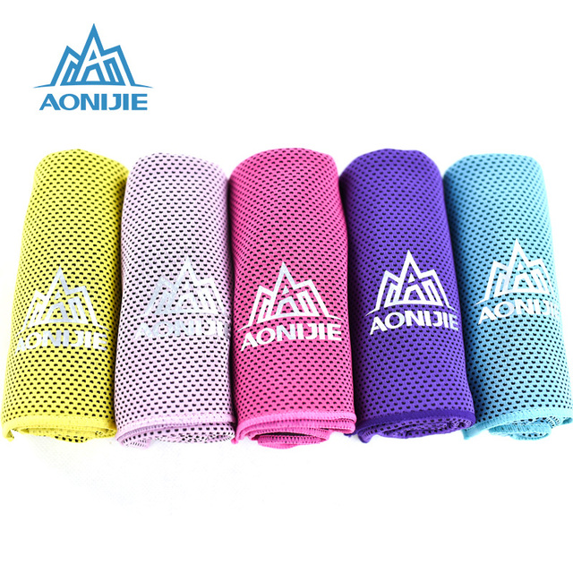 AONIJIE 4041 Instant Cooling Towel Quick Drying Mesh Running 2