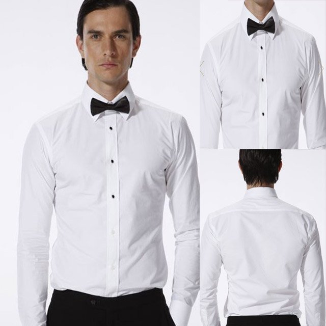 cad7bffb9db Hot sell 100% cotton custom made men shirt Tuxedo shirt business shirt--fit  your body well brand CTD