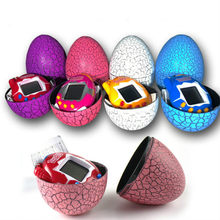 Funny Electronic Virtual Pets Machine Dinosaur Egg Toys Adult Nostalgic Machine Retro Cyber Toy Handheld Game Gift for children(China)