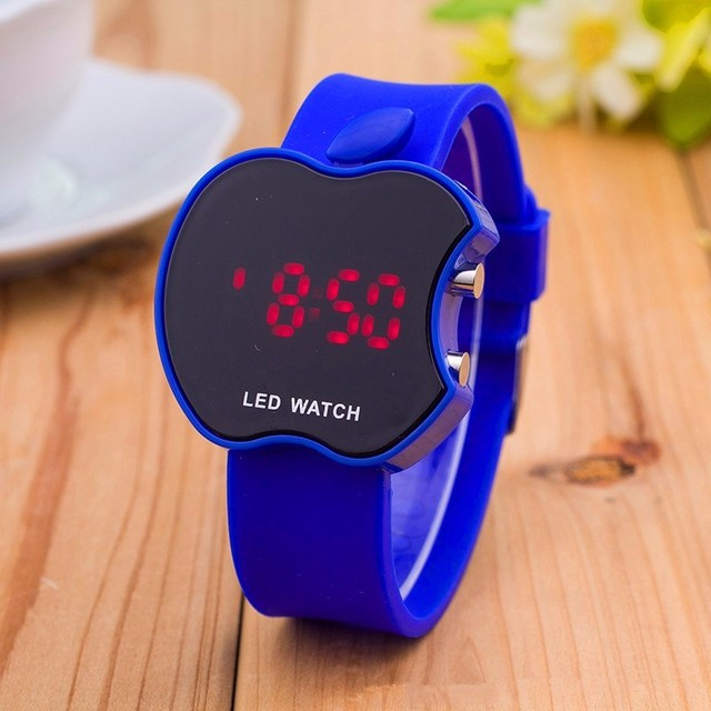 2018 nouvelle montre de sport en Silicone souple femmes série Bracelet LED montre Bracelet électronique bonbons couleurs marque de mode montres 3