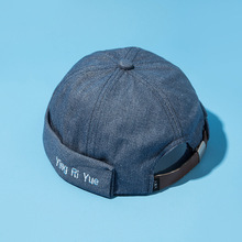 2019 Mens Beanie Hat Retro Crimping Brimless Skull Caps Summer Cap Washed Adjustable Beanies For Men Harajuku Hip Hop Bonnet