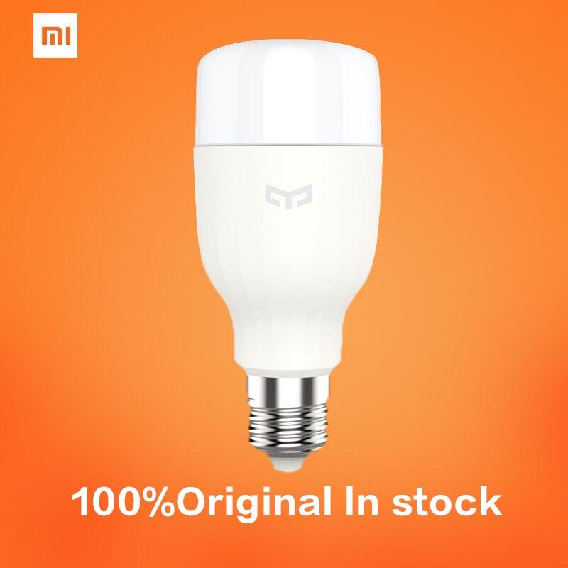 Xiaomi Mi Yeelight Led-lampe Wifi Fernbedienung Einstellbare Helligkeit Eyecare Licht Intelligente Birne...
