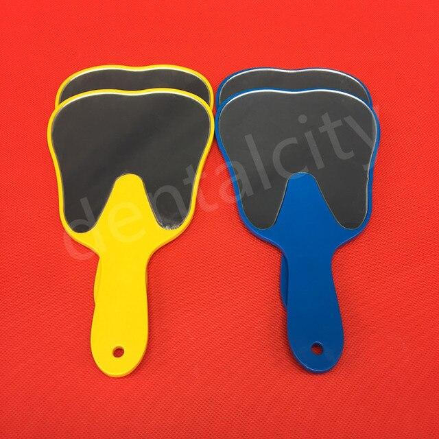 Espejo Dental de moda útil paciente espejo de mano Dental mano cuidado de los dientes herramientas espejo Dental