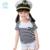 2017 Verão Conjunto de Roupas Para Crianças Meninas Listrado Preto Branco conjunto Shortsleeve E Shorts 2 Pcs Roupas Roupa Dos Miúdos Dos Meninos conjuntos