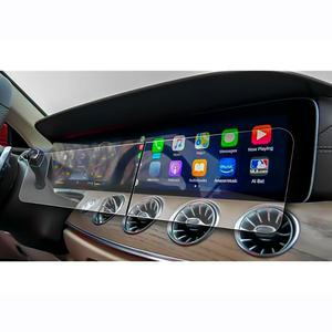 Image 1 - Ruiya 2 pçs protetor de tela para 2019 g class w464 12.3 Polegada tela de navegação do carro auto interior adesivos acessórios