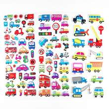 Cartoon Animal Bubble Stickers Cute 3D Cartoon Bubble Puffy Stickers Animals for Boys Dinosaurs Baby Toys School Teacher Reward(China)