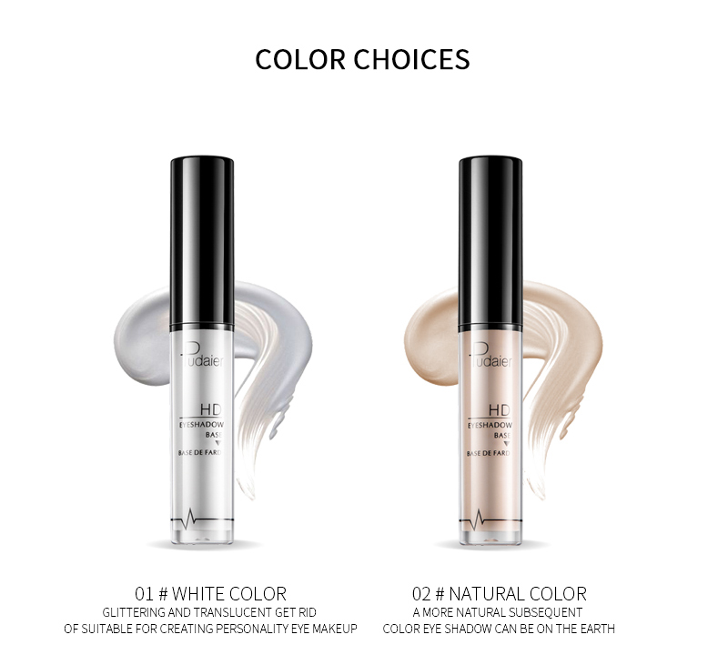 Pudaier Eye Base Primer Long Lasting Make Up Foundation Cream Moisturzing Eyelid Eyeshadow Primer Liquid Base Cosmetics TSLM1