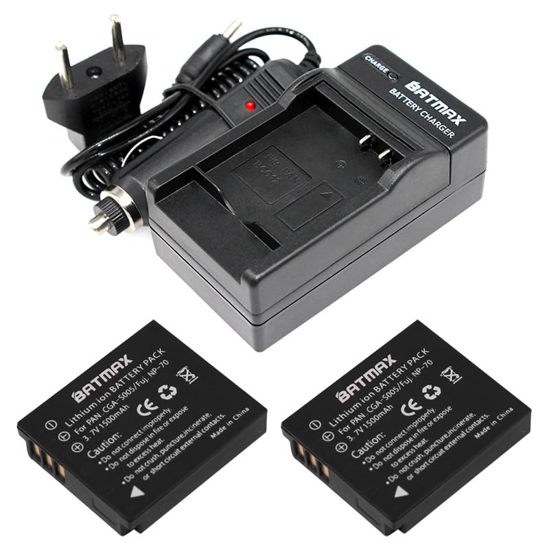 Cargador para Panasonic Lumix dmc-lx2 LX 2