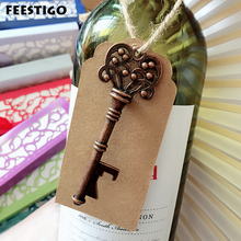 Vintage Key Bottle Openers Wedding Gift Souvenir For Guests 50pcs Favors and Gifts Party Festive Supplies