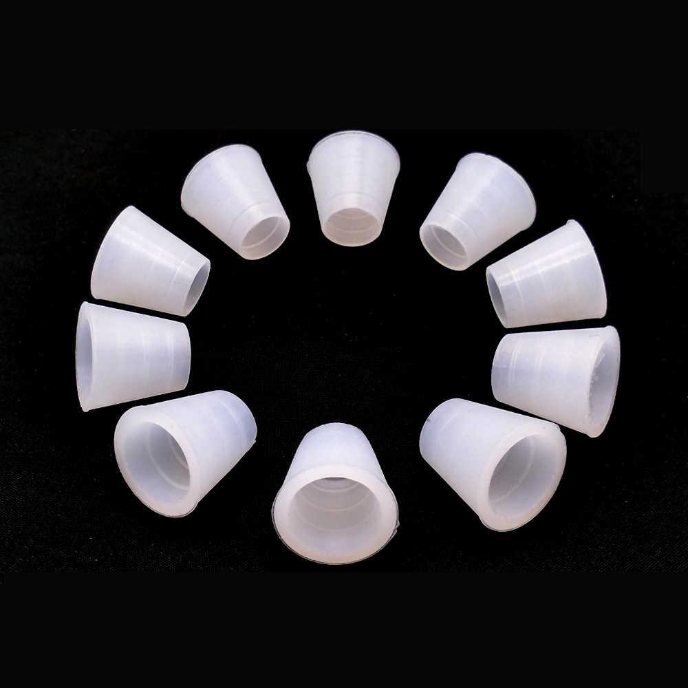 10 stücke Weiß Schlauch Tülle Gummi Dichtung Für Shisha Shisha Wasserpfeife Sheesha Chicha Narguile Zubehör LM-0942