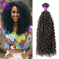 Brazilian Kinky Curly Virgin Hair One Bundle Brazilian Virgin Hair Kinky Curly 7A Unprocessed Brazilian Human Hair Weave Bundles