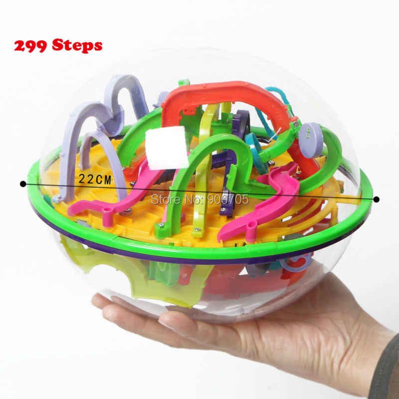 99-299 Passos 3D Magia Intelecto Bola Marble Puzzle Game perplexus bolas magnéticas Equilíbrio IQ IQ brinquedos Educativos clássicos brinquedos