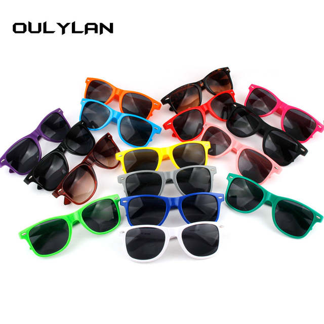 From Fashion Apparel Lens Custom Sun In Glasses Sunglasses Vintage 0oulylan Plasic Women Color Eyewear Gift Driving Us4 Men Candy 6b7gyYf