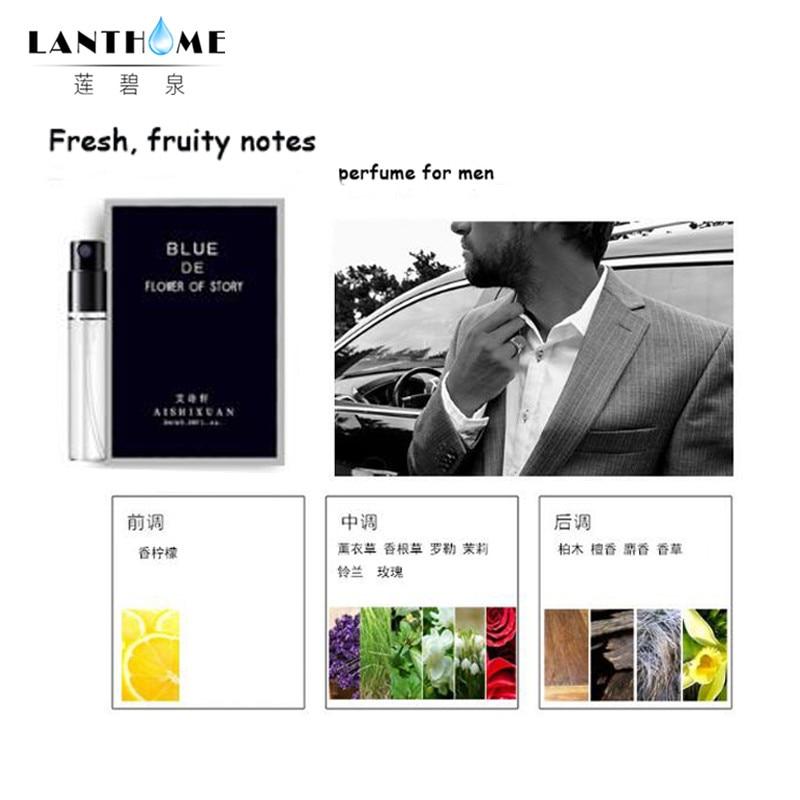 Men Pheromone Bottle Long Lasting Fragrance Spray Men's Cologne Pheromone Eau De Cologne Male Perfumed Deodorant 3ML