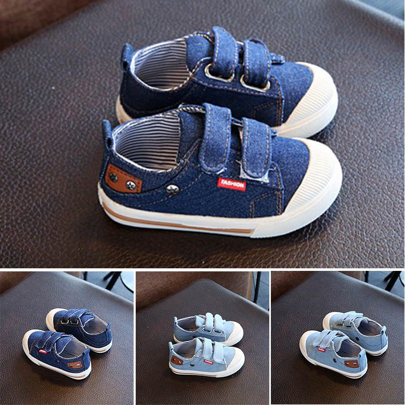 Children Shoes for Girls Boys Sneakers Jeans Canvas Children Shoes Denim Running Sport Baby Sneakers Boys Shoes