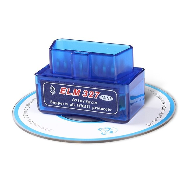 OBD2 Super Mini ELM327 Bluetooth V2.1 / V1.5 OBD2 Car Diagnostic Tool ELM 327 Bluetooth For Android/Symbian For OBD 2 Protocol