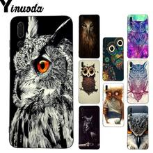 Yinuoda Owl Unique Design phone case for Huawei P9 P10 Plus Mate9 10 Mate10 Lite P20 Pro Honor10 View10(China)