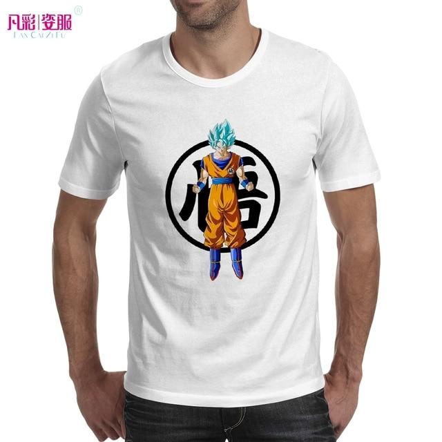 Super Saiyan Blue Stand With Goku Symbol T Shirt Dragon Ball Super