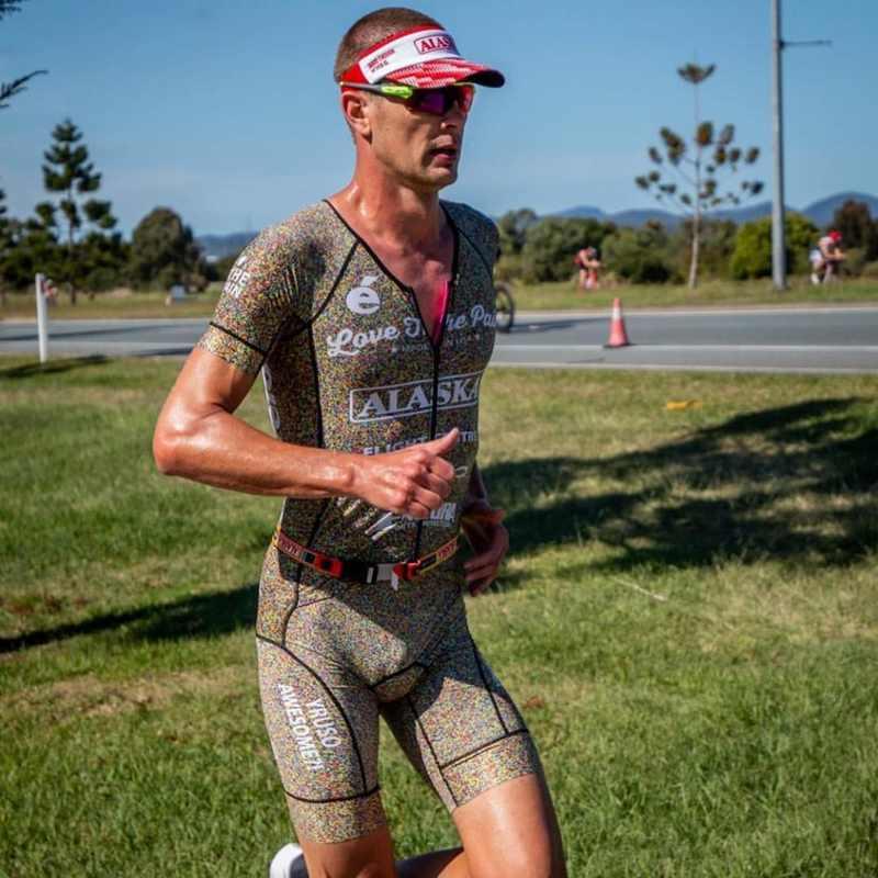 acheter en ligne 9891c 21d1b 2019 Love The Pain men summer MTB downhill jerseys suit skinsuit jumpsuit  maillot triathlon ciclismo ropa hombre running wear