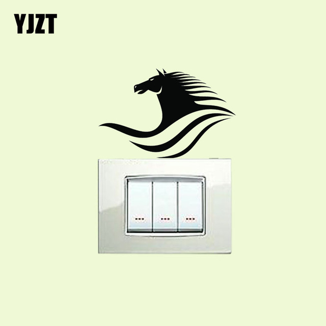 Amazing Us 0 89 40 Off Handsome Horse Kitchen Vinyl Decal Decor Abstract Cartoon Nice Animal Wall Switch Sticker 8Ss 0445 In Wall Stickers From Home Home Remodeling Inspirations Basidirectenergyitoicom