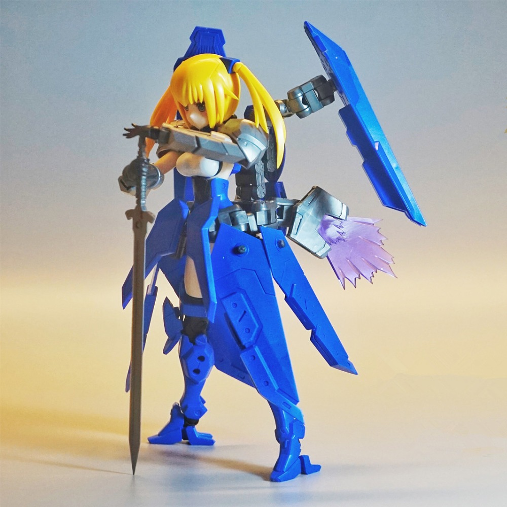 PA Pretty Armor model Frame Arms Girl Saber F with weapon pack Full Action Assembled model NP001PA Pretty Armor model Frame Arms Girl Saber F with weapon pack Full Action Assembled model NP001