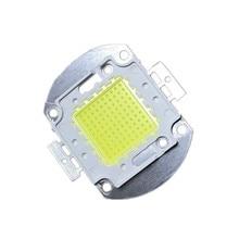 100 W LED cob Warm Weiß Natur rot grün blau High power Lampe flutlicht quelle 3000mA 30mil chip Freies verschiffen 5 stücke