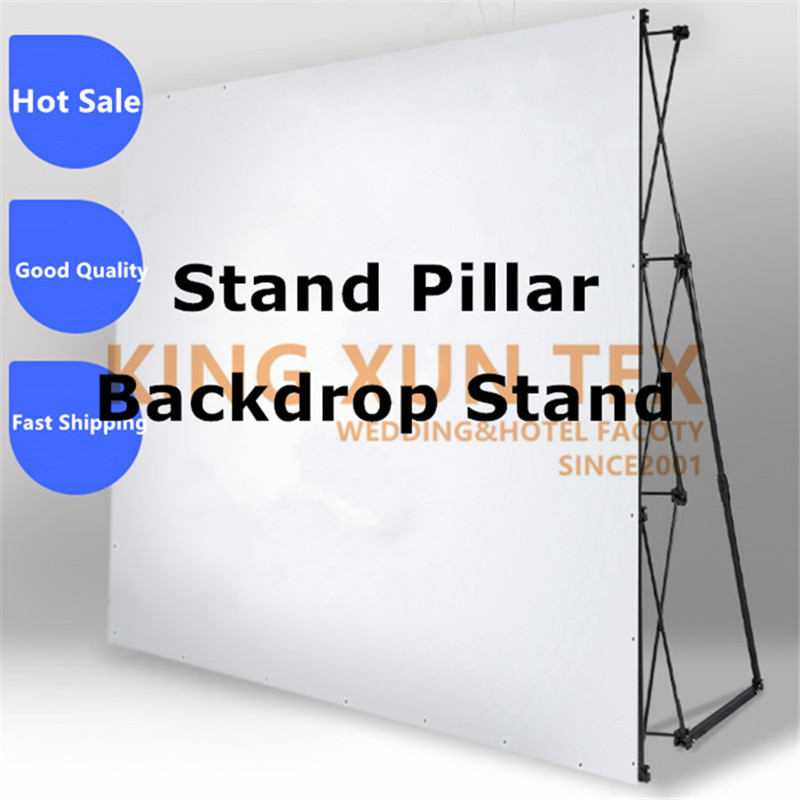 Flower Wall Folding Stand Frame for Wedding Backdrops Straight Banner Exhibition Display Stand Trade Advertising ShowFlower Wall Folding Stand Frame for Wedding Backdrops Straight Banner Exhibition Display Stand Trade Advertising Show