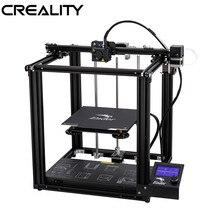 Оригинальный CREALITY 3D Ender-5 принтер двухъядерный y-оси-XY закрытая структура V1.1.4 материнская плата Встроенный бренд питания