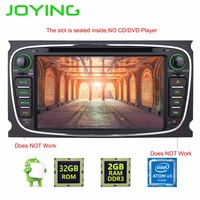 JOYING Newest Quad Core 1024 600 2 Din Android 5 1 Car DVD GPS Navigation For
