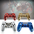 Colorful Plated Plastic Cover Protection Case Skin For SONY Playstation 4 PS4 Dualshock 4 Controllers