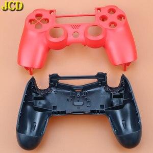 Image 3 - JCD poignée en plastique coque housse pour PS4 Pro mince contrôleur JDS 040 couvercle du boîtier avant coque arrière