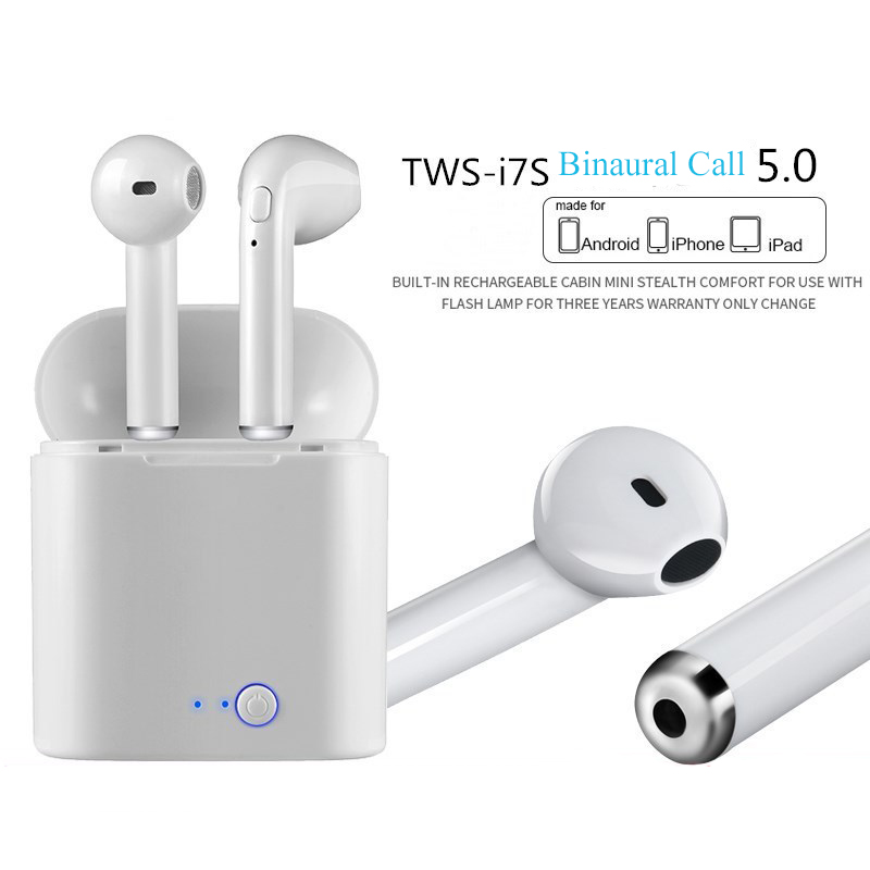 I7s Tws Wireless Bluetooth Earphones For Sports With Microphone For Smartphones Geekyviews
