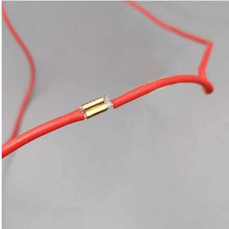 20 шт. обжимной пряжка с язычком 454D обжимной инструмент провода клеммный блок наконечники холодной штамповки U-образный провод Пряжка Медь Пряжка TerminaI