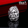Beier 316L Stainless Steel ring Cool Therianthropy New Designed skull ring Fashion Jewelry    BR8-350